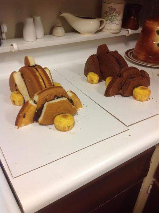 как сделать торт в виде собаки пошагово