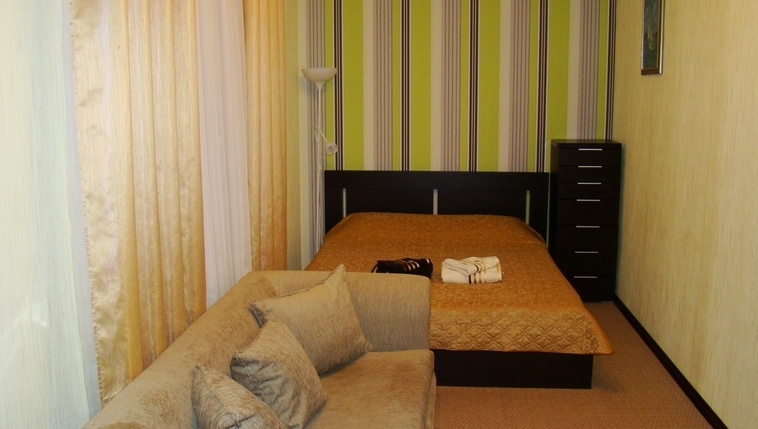 room in the guest house