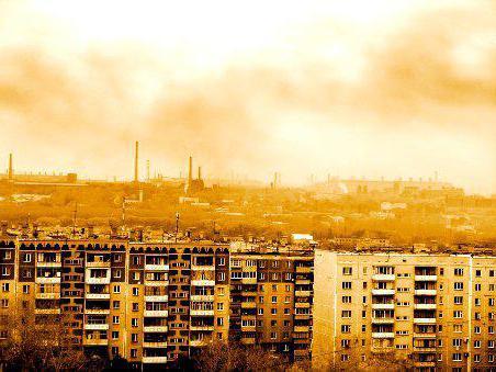 Экологические проблемы Челябинской области