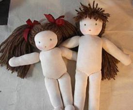 Как сделать тряпичную куклу