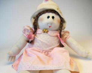 Народная тряпичная кукла