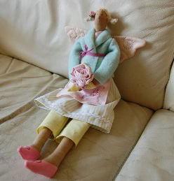 Как сшить куклу тряпичную