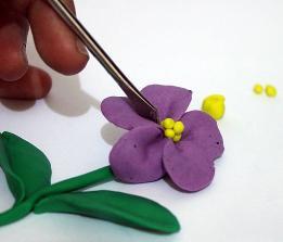 Цветы из пластилина. Как сделать из пластилина цветы?