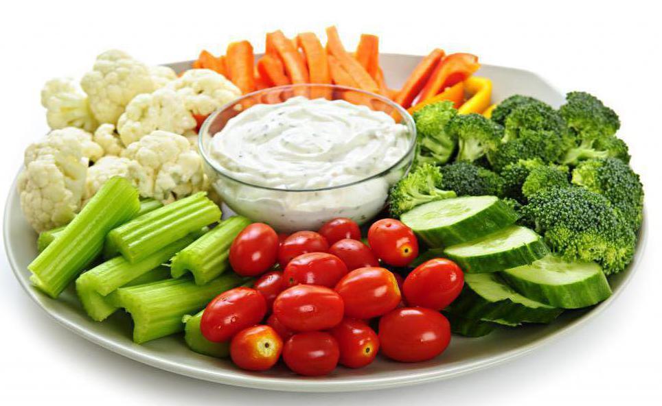 красивая овощная тарелка