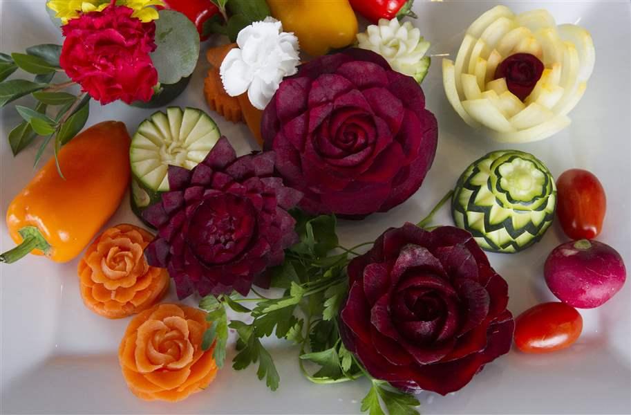 салат овощная тарелка