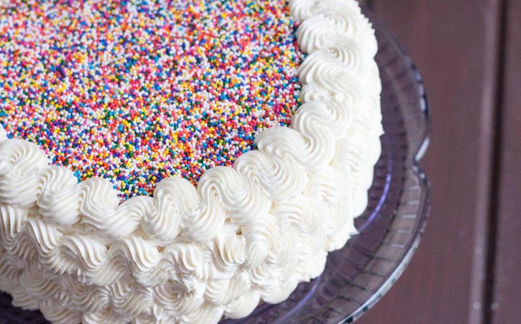 торт с кремом из меренги