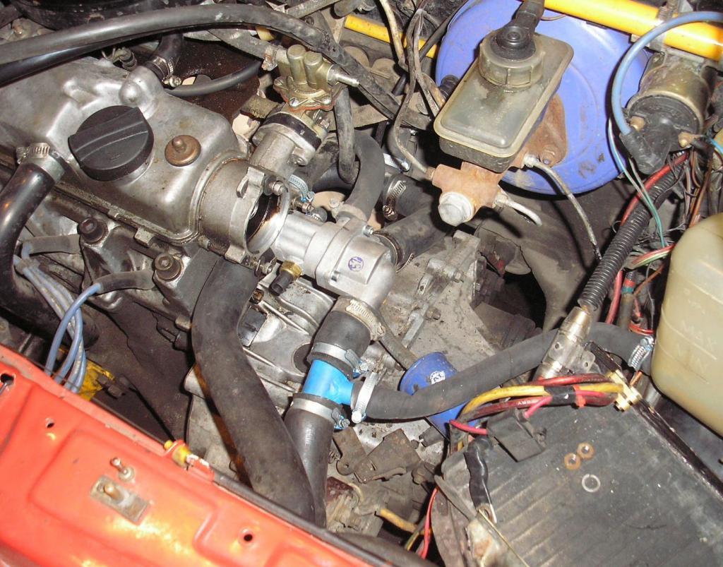 Моторный отсек ВАЗ-2109