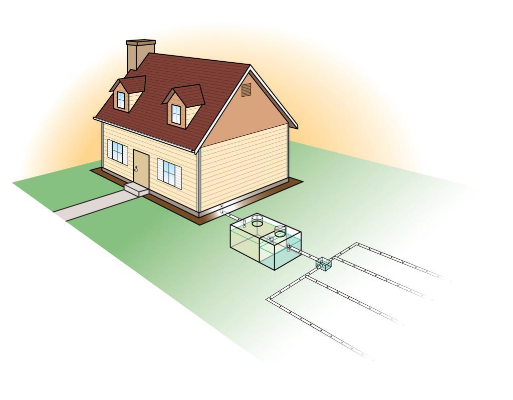 Канализация для частного дома своими руками: пошаговая инструкция монтажа
