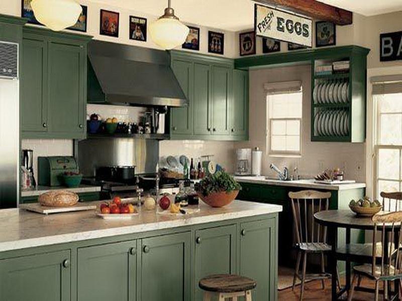 Kitchen workspace