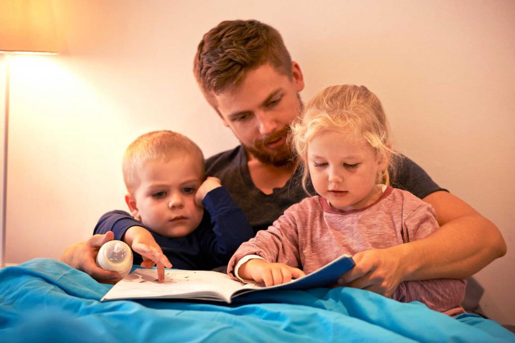 читают родители вслух
