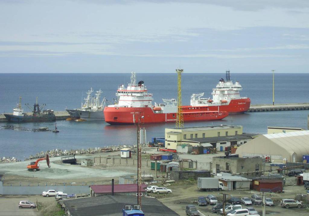 Port Kholmsk