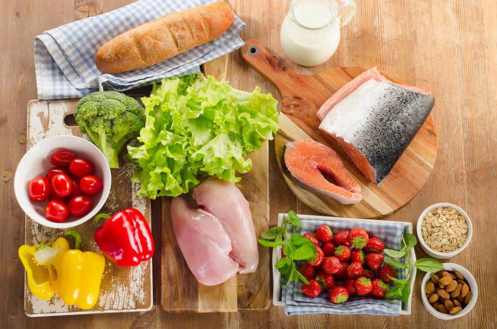 Правильное питание - залог здоровья