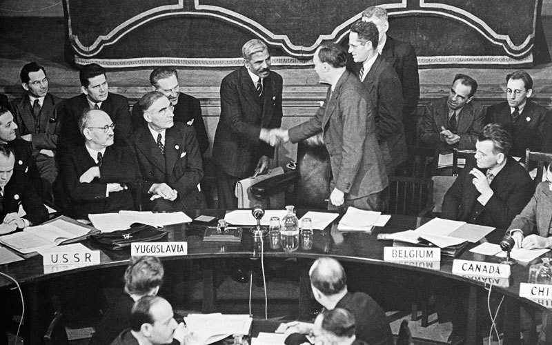 Creation of the UN Commission