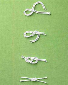 морской узел удавка как вязать инструкция пошагово