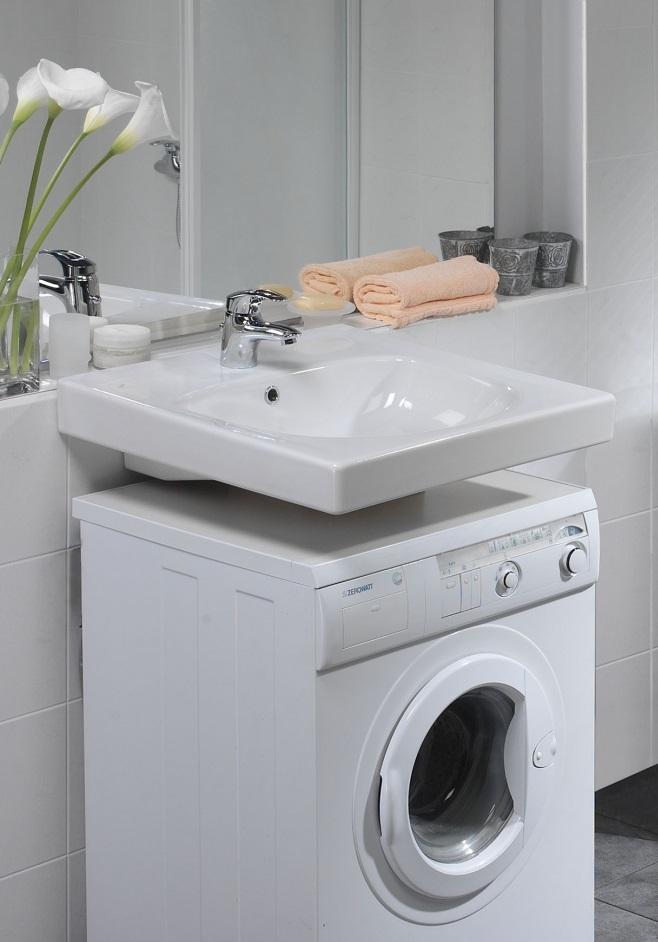 Washing machine under the sink