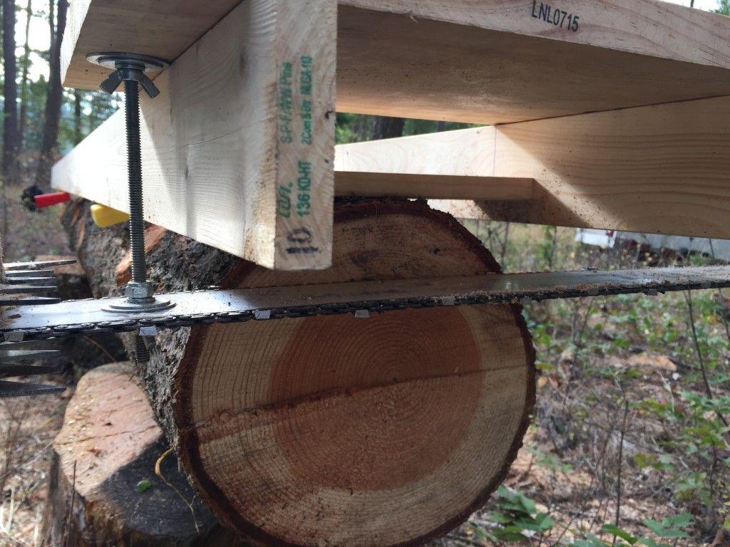 Tire sawmill