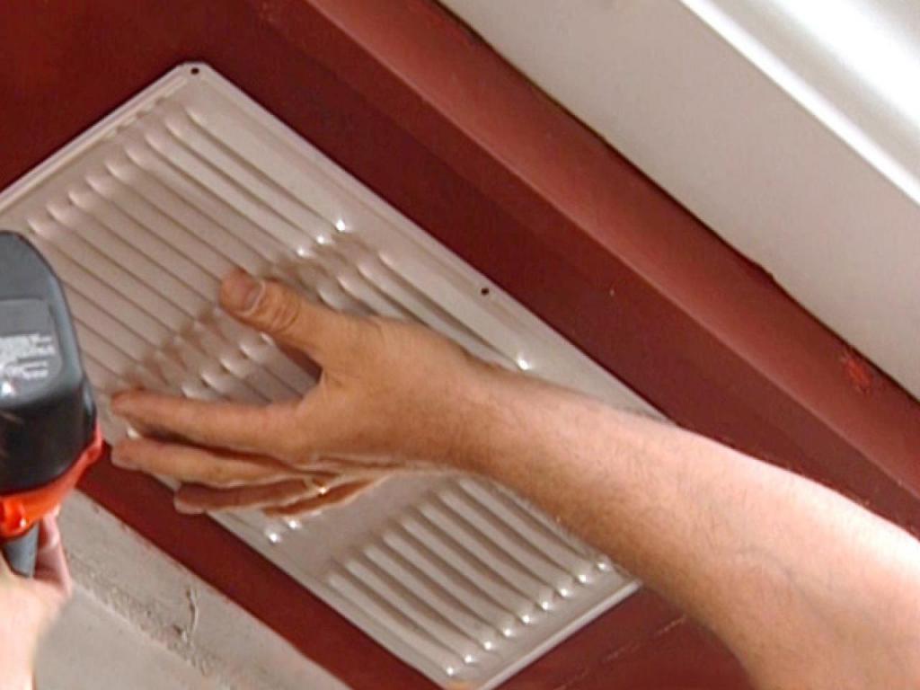 Монтаж вентиляции в комнате без окна