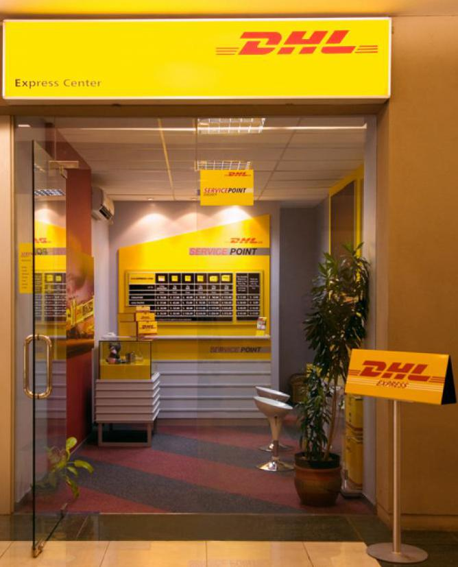 DHL items in Moscow
