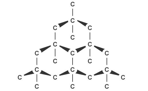 Тип кристаллической решетки алмаза