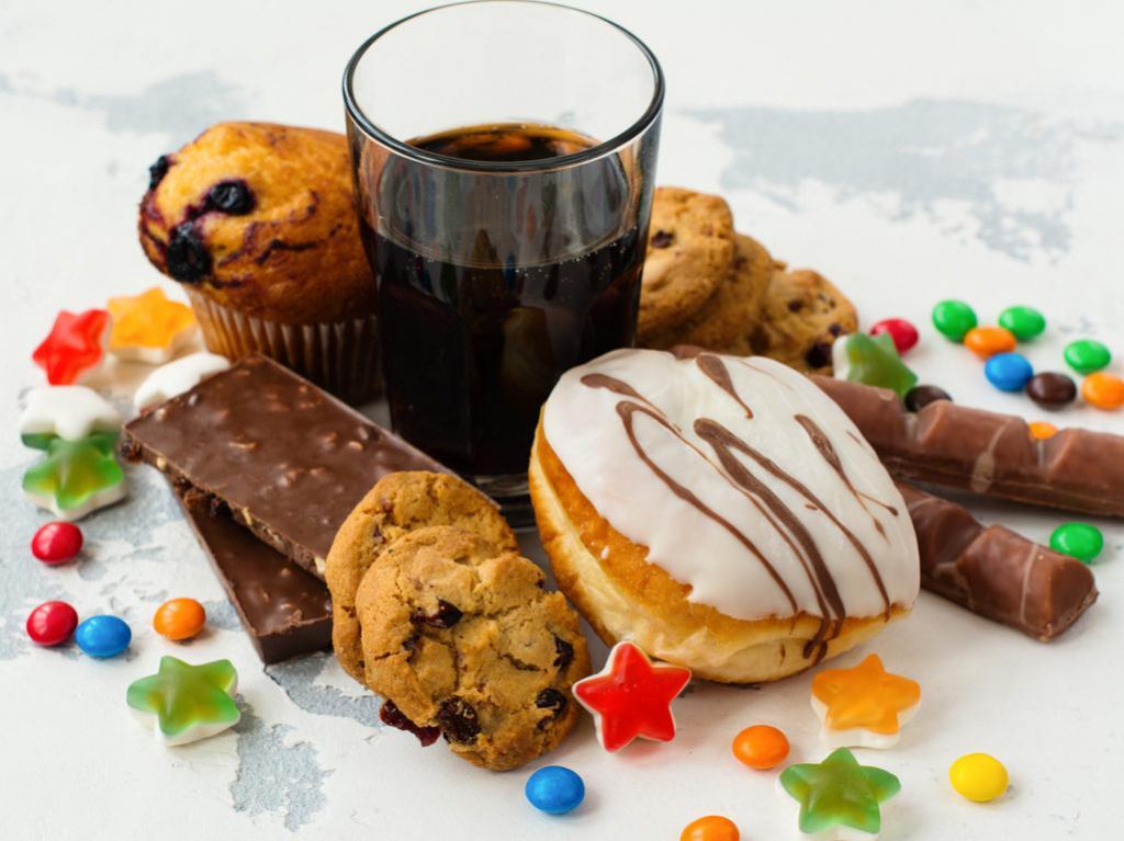 картинки вредных сладостей