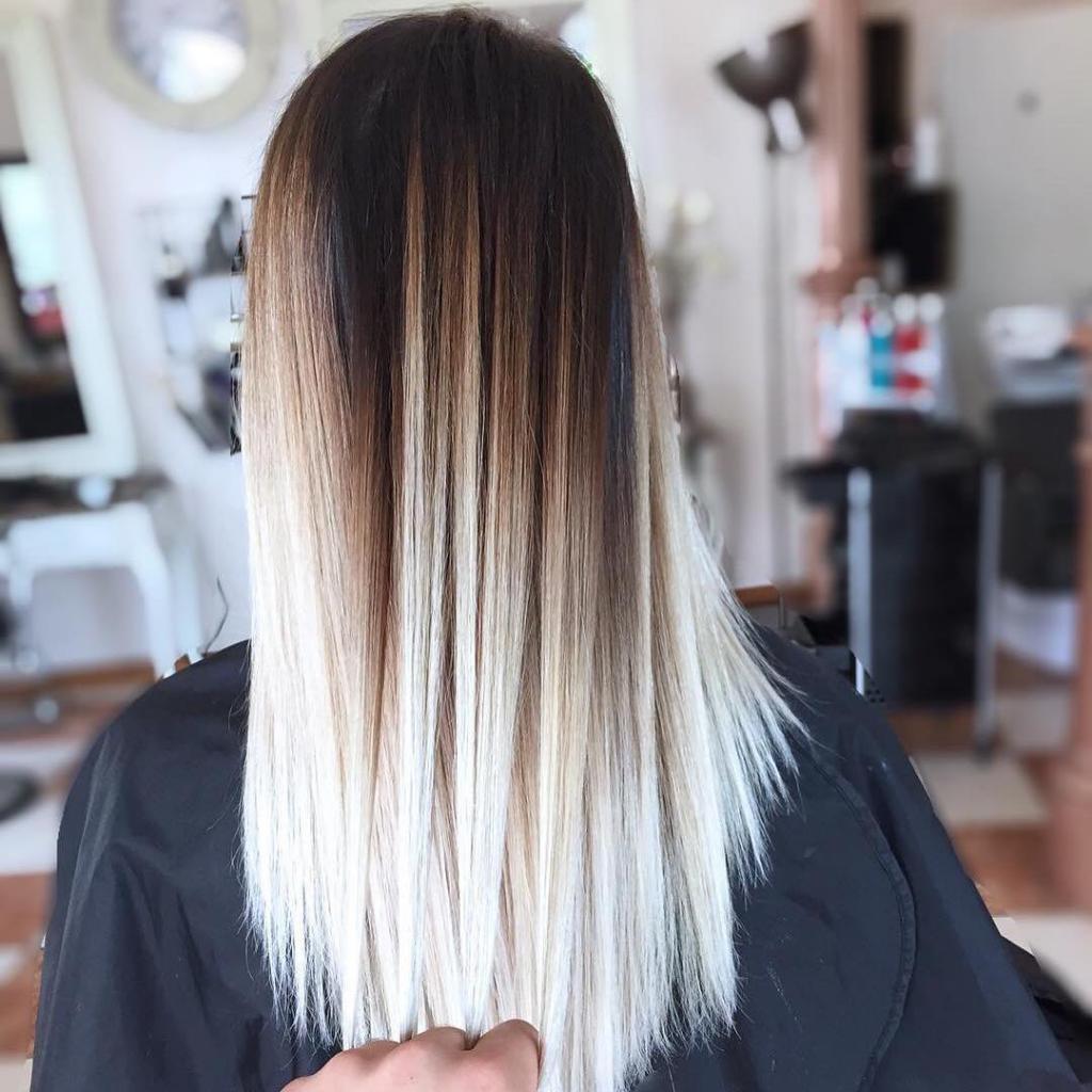 амбре окрашивание волос фото картинки еще раз