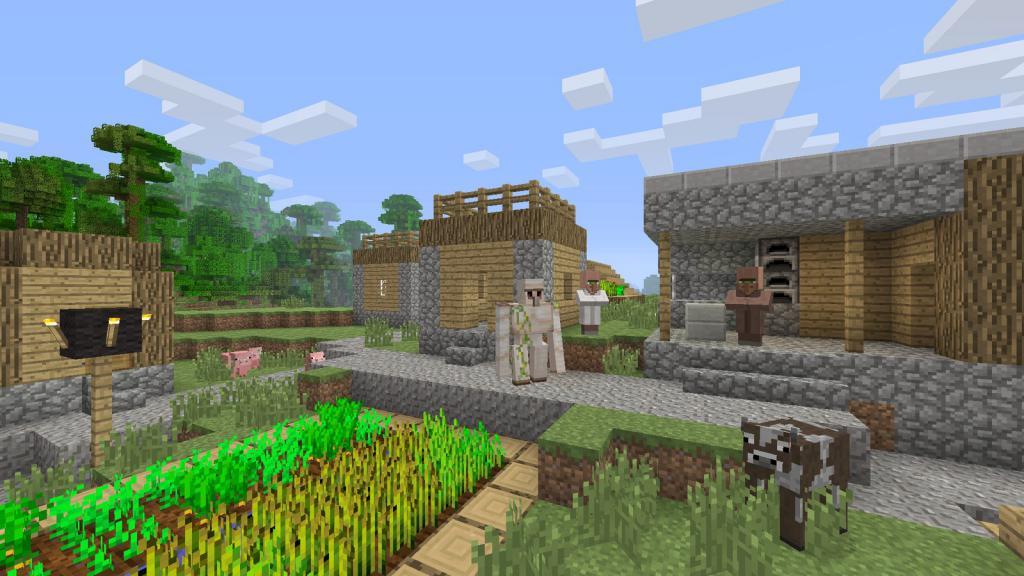 Деревня в игре