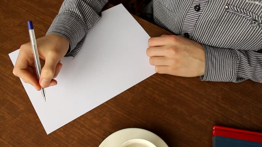 I started to write a resume