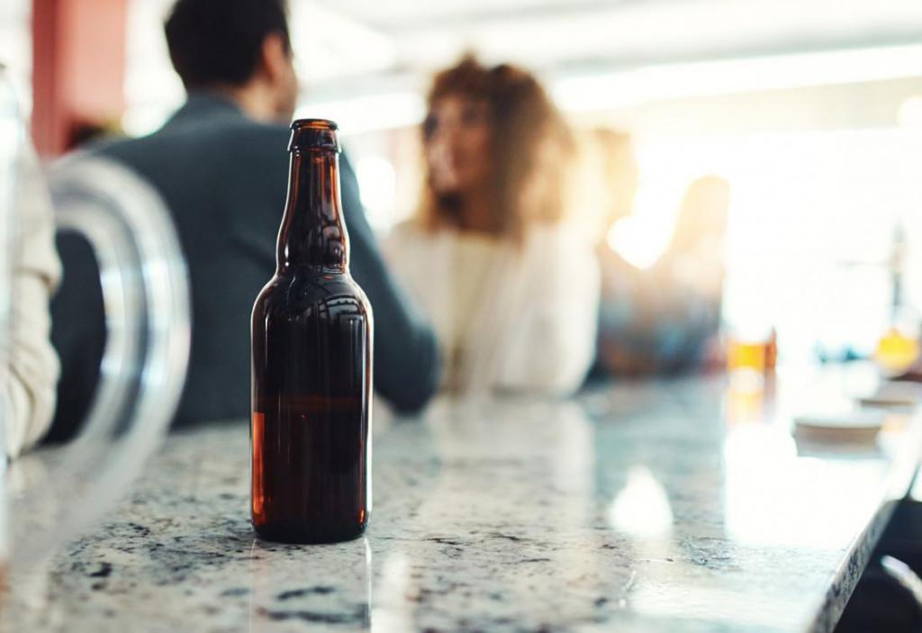 бутылка из-под пива