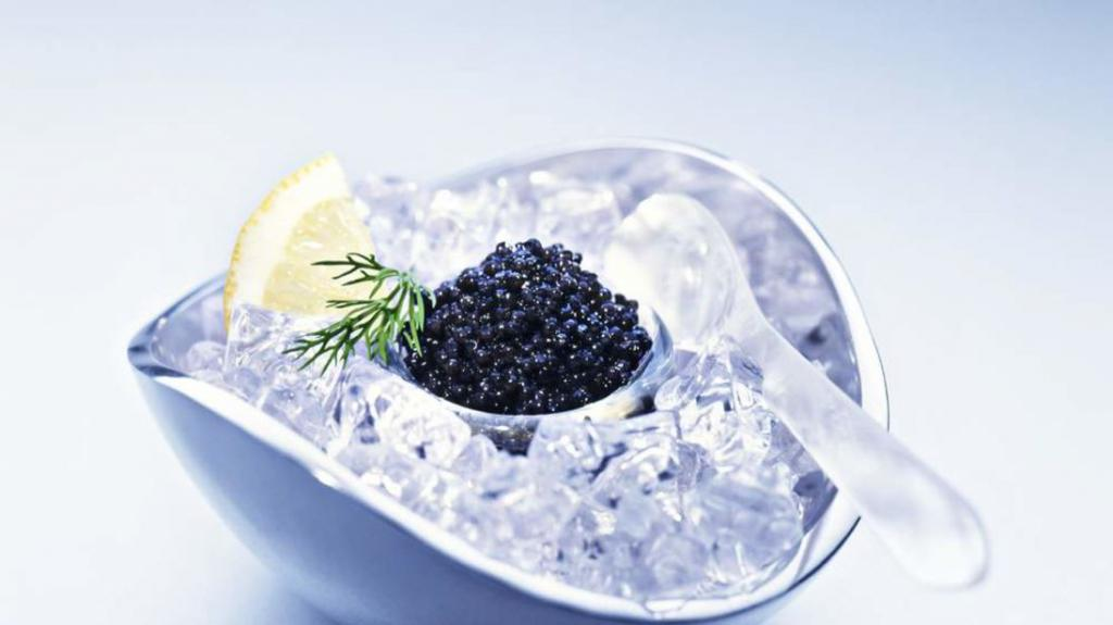 The tradition of eating black caviar