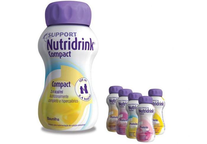 Нутридринк белковый