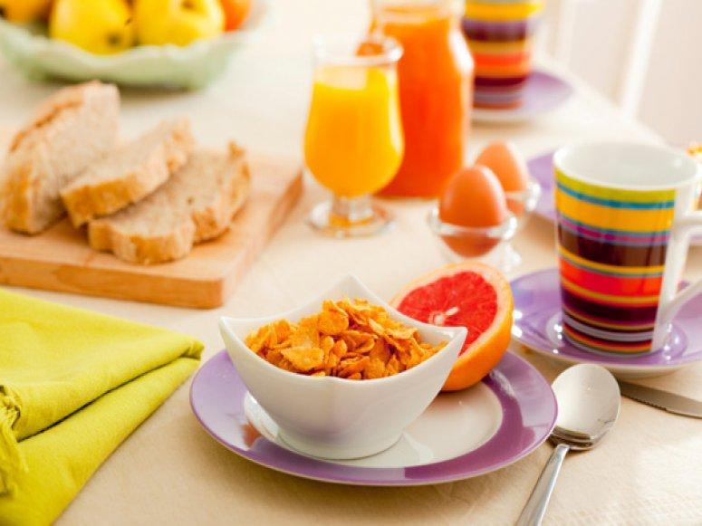Диетический завтрак и напитки