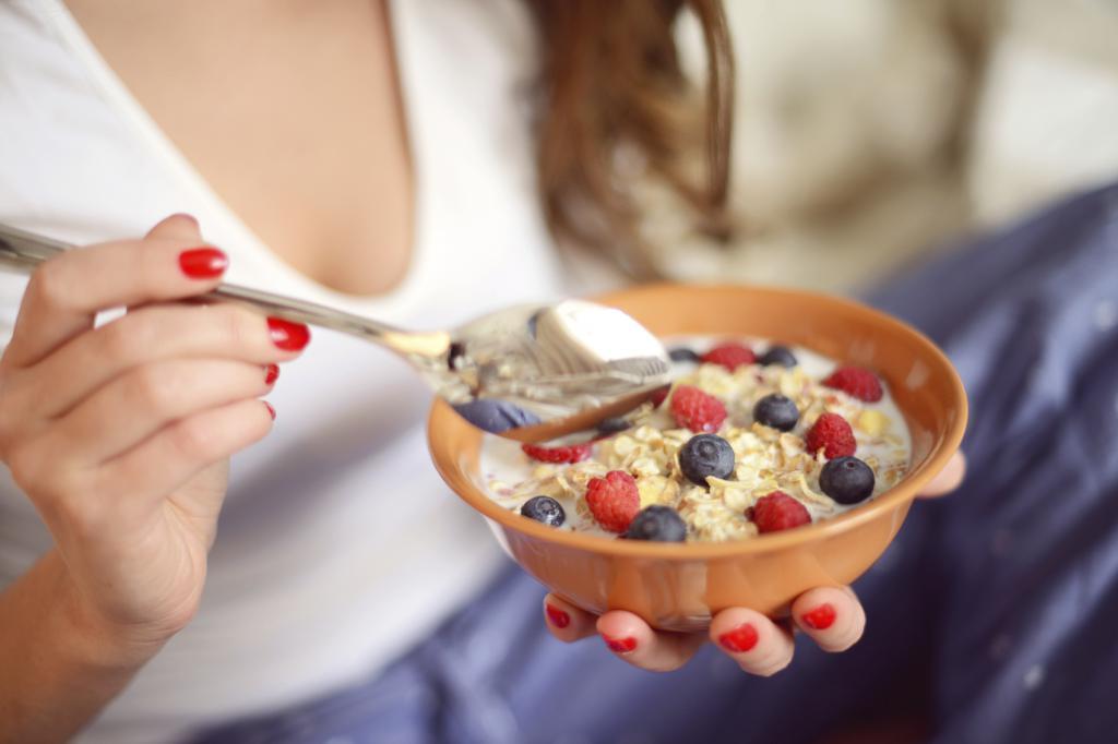 Вкусный диетический завтрак