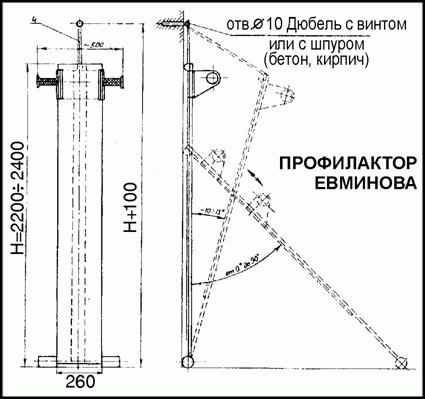 Доска Евминова размеры