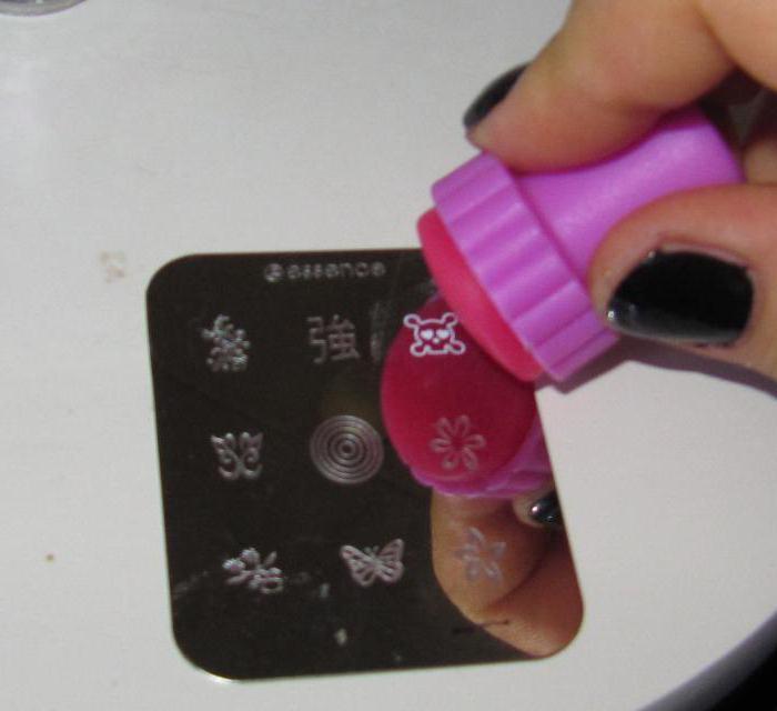 Как правильно пользоваться штампом для ногтей