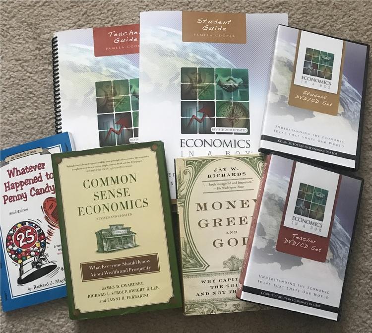 List of used literature on economics