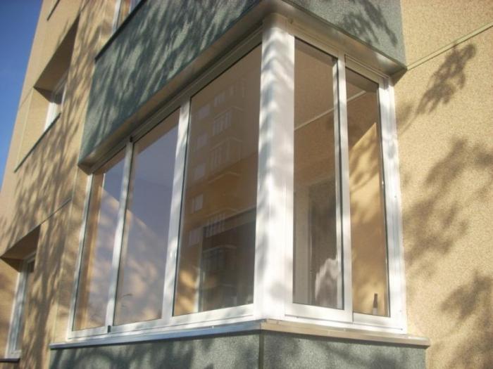 Остекление балкона: алюминий или пластик. проект остекления .