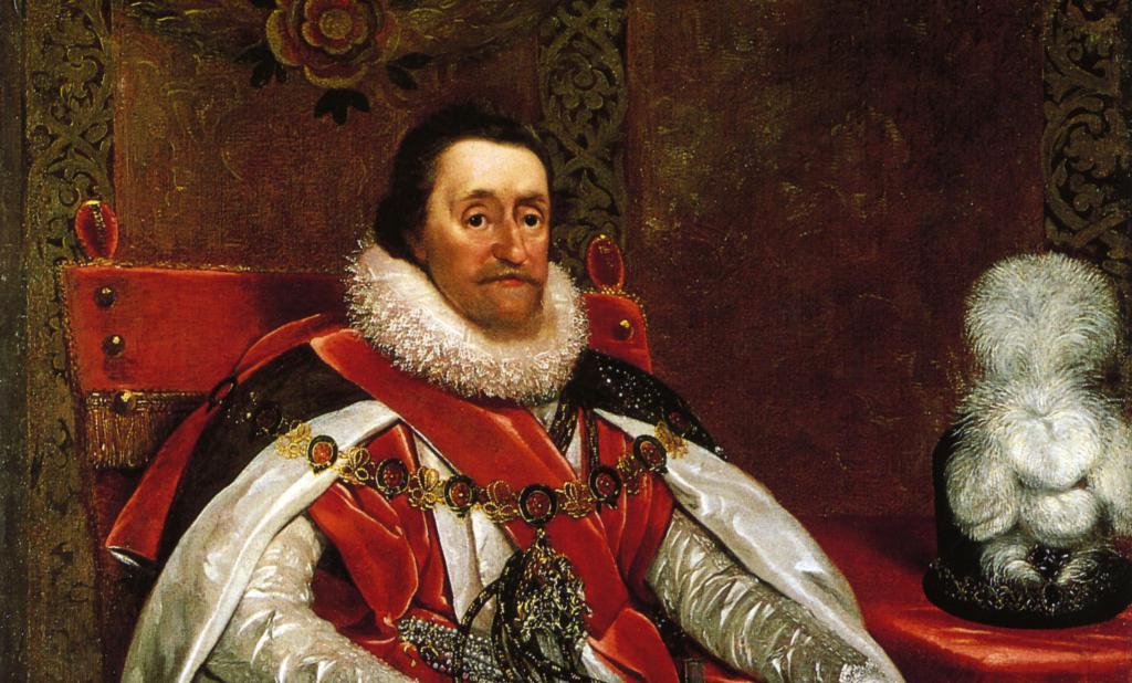 King James I English