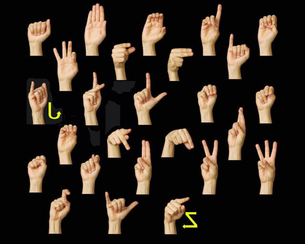 как картинки для общения с глухонемыми монтируется, как внутри