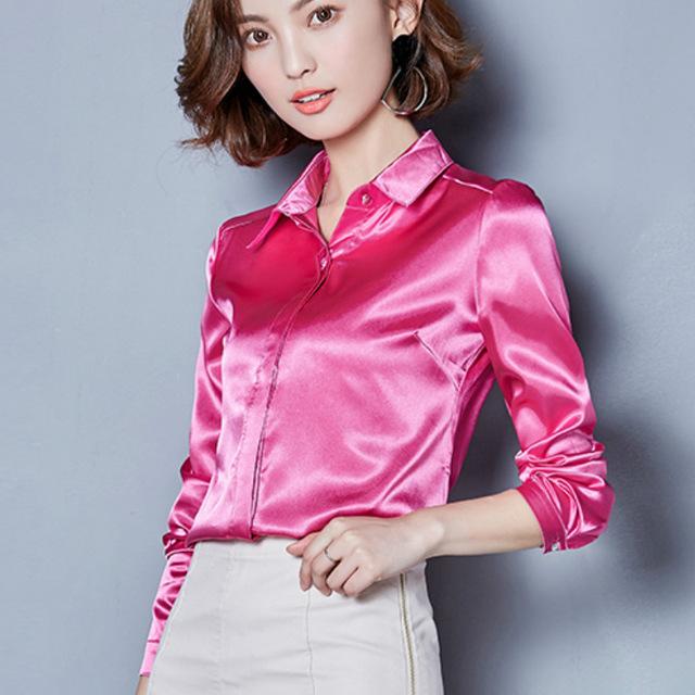 Сатиновая блузка