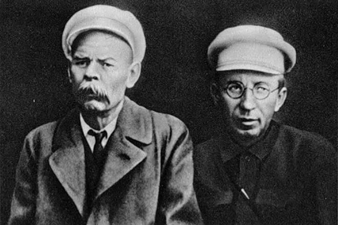 Макаренко с Горьким