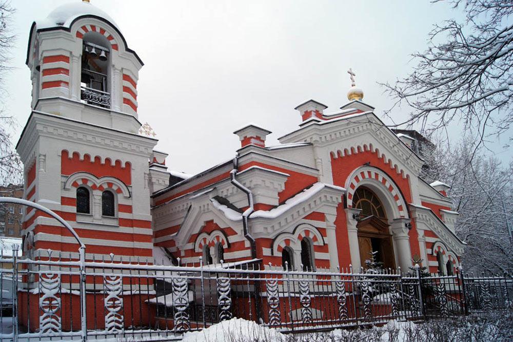 Temple after restoration