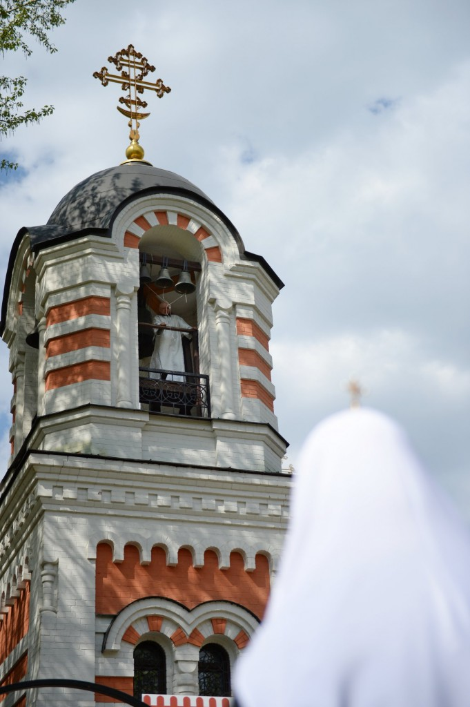 Bell tower of the temple
