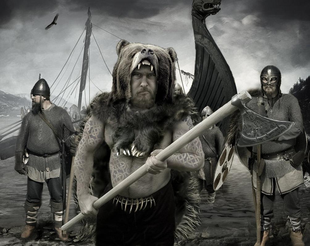 Что такое берсерк? Воин племени викингов, посвятивший себя богу Одину. Скандинавские саги