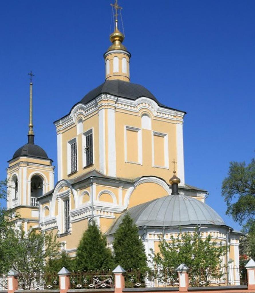 Архитектура храма-раннее барокко