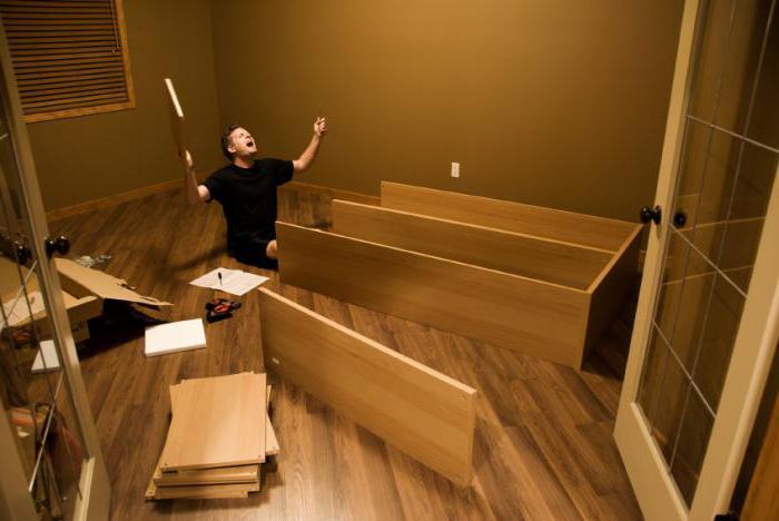 Стяжка межсекционная мебельная как крепить