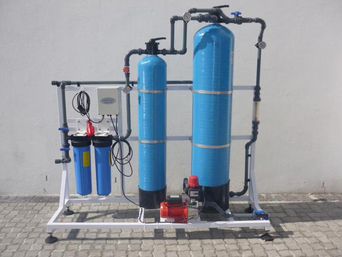 Фильтр для воды с большим содержанием железа