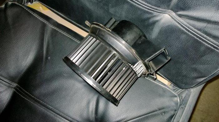 замена моторчика печки