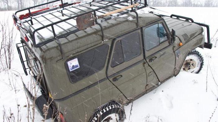 Багажник на УАЗ на крышу
