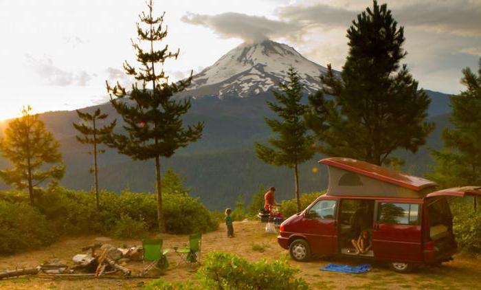 фургон для путешествий