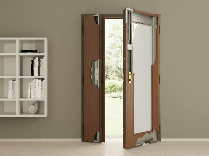 Двупольная дверь размеры